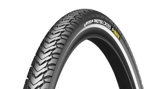 "Michelin Protek Cross Max Opona 28"" drut Reflex czarny"